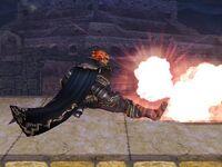 Ataque fuerte superior Ganondorf SSBB (2)