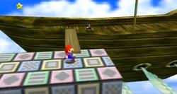 Barco volador en Super Mario 64