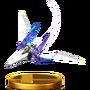 Trofeo de Arwing (Assault) SSB4 (Wii U)