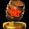 Trofeo de Barril DK SSB4 (Wii U)