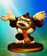 Trofeo de Donkey Kong (Smash 1) SSBM