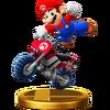 Trofeo de Mario (Moto estándar) SSB4 (Wii U)