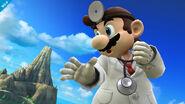 Dr. Mario en Pilotwings SSB4 (Wii U)