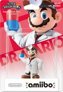 Embalaje del amiibo de Dr. Mario