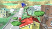 Lanzamiento hacia abajo Ness (2) SSB4 (Wii U)