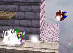Lanzamiento trasero de Luigi (2) SSB