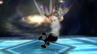 Mr Game y Watch Ataque Smash Superior-SSBB