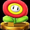 Trofeo de Flor de fuego SSB4 (Wii U)