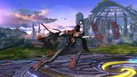 Ataque Normal Bayonetta (1) SSB Wii U