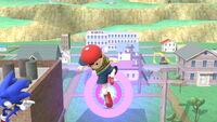 Ataque aéreo hacia abajo Ness SSB4 (Wii U)