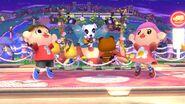 Concierto de Totakeke en Sobrevolando el pueblo SSB4 (Wii U)