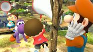 Créditos Modo Leyendas de la lucha Yoshi SSB4 (Wii U)