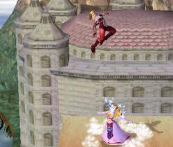 Lanzamiento hacia arriba de Zelda (2) SSBM