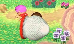 Lanzamiento hacia atrás Aldeano (1) SSB4 (3DS)