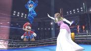 Mario, Mega Man y Zelda en el Ring de boxeo - (SSB. for Wii U)