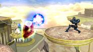 Palutena usando Protección SSB4 (Wii U)