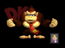 Pose de victoria Donkey Kong X (2) SSBM
