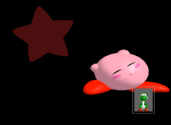 Pose de victoria Kirby B (3) SSBM