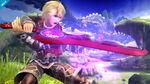 Shulk en la Llanura de Gaur SSB4 (Wii U)