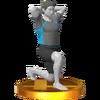 Trofeo de Entrenador de Wii Fit SSB4 (3DS)