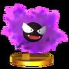 Trofeo de Gastly SSB4 (3DS)