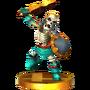 Trofeo de Stalfos SSB4 (3DS)