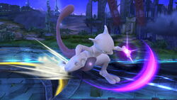Ataque de recuperación por resbalo Mewtwo (1) SSB4 (Wii U)