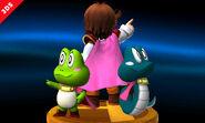 Diseño de trofeo - Principe de Sable (Kaeru no Tame ni Kane wa Naru) - (SSB. for 3DS)