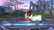Karateka Mii usando una bola de hierro (2) SSB4 (Wii U)