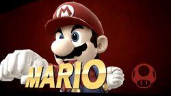 Pose de victoria lateral (2) Mario SSB4 (Wii U)