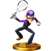 Trofeo Waluigi SSB4 (Wii U)