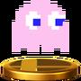 Trofeo de Pinky SSB4 (Wii U)
