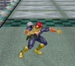 Ataque normal de Captain Falcon (1) SSBM