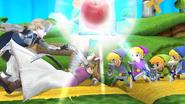 Créditos Leyendas de la lucha Corrin SSB4 (Wii U)