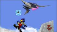 Créditos Modo Leyendas de la lucha Falco SSB4 (3DS)