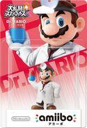 Embalaje del amiibo de Dr. Mario (Japón)