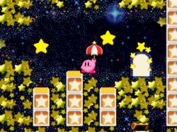 Habitación estrellada Kirby Super Star Ultra