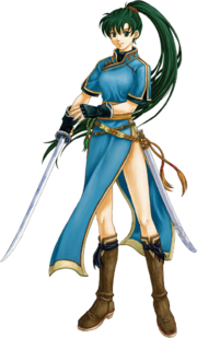 Lyn FE Blazing Sword