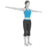 Pose T Entrenadora de Wii Fit (3DS)