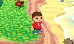 Pose de espera Aldeano (2) SSB4 (3DS)