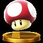 Trofeo de Champiñón venenoso SSB4 (Wii U)