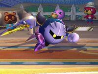 Agarre corriendo Meta Knight SSBB