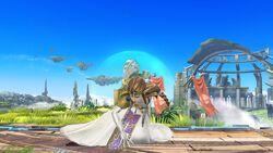 Ataque Fuerte Inferior Zelda SSB4 Wii U