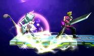 Efecto eléctrico de las platafomas bajo la influencia de Ramuh (1) SSB4 (3DS)
