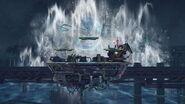 Entrada de Leviatán en Midgar SSB4 (Wii U)