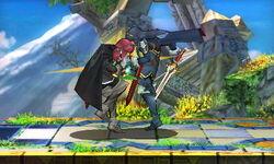 Golpiza de Lucina SSB4 (3DS)