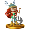 Trofeo de Bárbara SSB4 (Wii U)