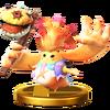 Trofeo de Riki SSB4 (Wii U)