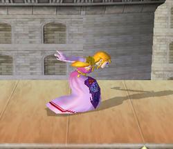 Ataque rápido de Zelda (2) SSBM