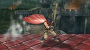 Burla superior de Ike (3) SSB4 (Wii U)